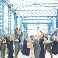 Wedding Party on the Blue Bridge